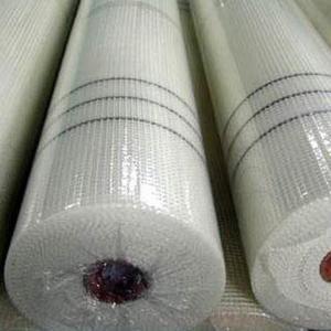 China 5x5mm 160g White EIFS Fiberglass Mesh For Wall Reinforcing wholesale