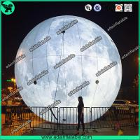 China Lighting Inflatable Moon,Event Inflatable Moon,Club Hanging Decoration wholesale
