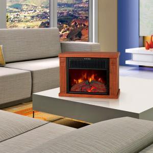 China desktop fireplace log burning flame fires stoves EF480 MINI TABLE Heater Slogger room wholesale