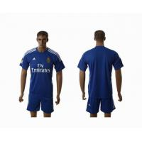 China Real Madrid away club football cloths wholesale