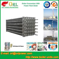 China Water Tube Boiler Stack Economizer Alloy Steel , Power Plant Economizer For Boiler wholesale