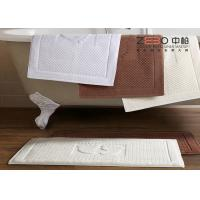 China Antibacterial Bathroom Foot Towel , Hotel Bath Mats OEM / ODM Available wholesale
