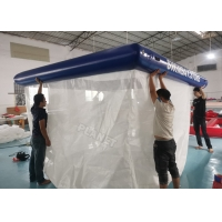 China Jellyfish Protection Floating Yacht Inflatable Sea Pool With Net wholesale