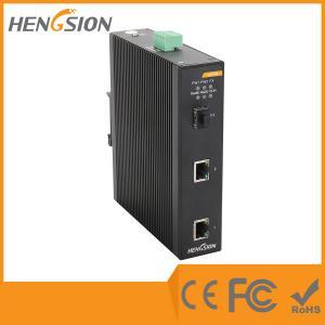 China 2 Gigabit TX + 1GF Industrial Gigabit Ethernet Switch Fiber Optical Network Switch wholesale