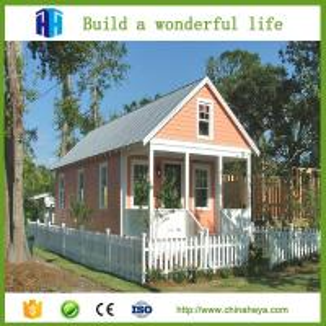 Buy cheap Beautiful 2 bedroom prefab house 50-80m2 modern sandwich panel designed prefab from wholesalers