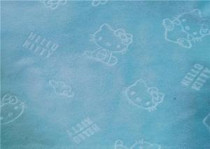 Warp Knitted Velvet Embossed Minky Velboa Fabric