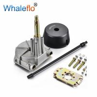 China Whaleflo Quick Connect Mechanical Rotary Steering helm WEL7-B Three Turns Lock to Lock Steering System on sale