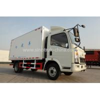China 10T Light Duty Durable Freezer Box Truck 4x2 For Meat And Milk Transport wholesale