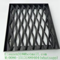 Buy cheap factory price powder coated expanded aluminium wall cladding mesh from wholesalers
