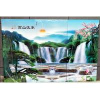 China PS lenticular sheet for making large size 3d poster large format lenticular advertising poster 3d flip printing wholesale