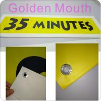 China Canvas / PVC Vinyl Banners Custom Banner Flags With Inkjet Printing wholesale