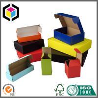 China Solid Color Printed Corrugated Mailing Box; Colorful Cardboard Shipping Box wholesale