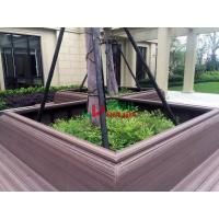 Quality Wood Plastic Clow Maintenance Decking With Groove Surface , Waterproof Plastic for sale