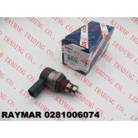 China BOSCH Genuine pressure regulating valve 0281006074, 0281006075 for AUDI, SEAT, VW 057130764AA, 057130764AB wholesale