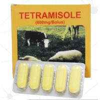 China Pharmaceutical Veterinary Tablets Wormer Tetramisole HCL Bolus Tablet 300mg wholesale