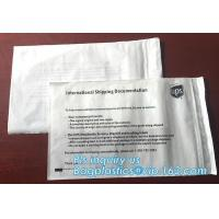 China packing list bubble mailer envelopes,customized packing list packaging mailing bags for packing clothes, bagease, packs wholesale