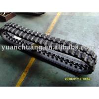 China Rubber Crawler,rubber track,harvester wholesale