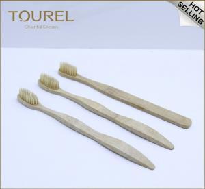 China Pure Bamboo Natural Toothbrush Environmentally Friendly Eco Gentle Soft Medium Hard Bristles wholesale
