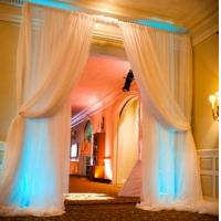 China 2018 adjustable aluminum pipe drape backdrop stand, wedding pipe and drape backdrop party event on sale