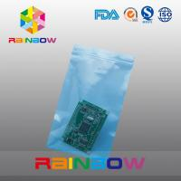 Quality Plain Poly Anti Static Bag For Electronic Components / Earphones Packaging for sale