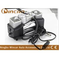China Auto Electric 12v Pump portable car air compressor With Double Cylinder wholesale