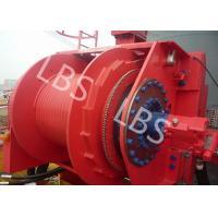 China Hydraulic Footstep Piledriver Winch Lebus Drum Offshore Winch For Rotary Drilling Rig wholesale