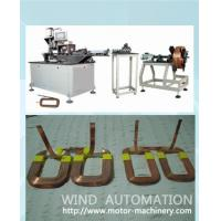 China Starter magnetic field coil winding machine Stator Pole coil forming machine on sale