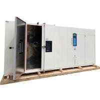 China 2000L Large Capacity Drive In Type Programmable -70c Constant Temperature Humidity Walk In Climatic Test Chamber wholesale