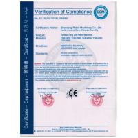 Shandong Rotex Machinery.,Co.Ltd. Certifications