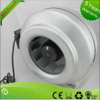 China Popular Inline Centrifugal Duct Fan , Air Duct Booster Fan Low Noise wholesale