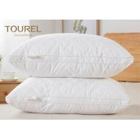 China Health Care Feather Fabric Filled  Highest Rated Bed Pillows For Hotel wholesale