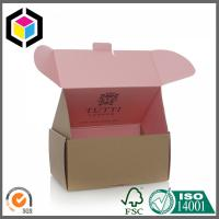 China Color Bespoke Cardboard Mailing Box; High Quality Corrugated Shipping Box wholesale