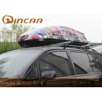 China ABS Car Roof Cargo Box Auto Cargo Carrier , 450L Car Roof luggage Box wholesale