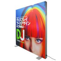 Quality Fabric Advertisement Light Box Textile Backlit Frame Double Visible Surface for sale