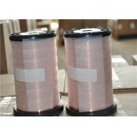 China Insulated Submersible Motor Winding Wire , Round Enamelled Copper Winding Wire wholesale