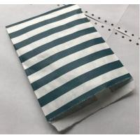China 25 Navy Blue Striped Paper Bags | Paper Navy Blue Party Bag | Party Favor | Food Candy Paper Bag wholesale