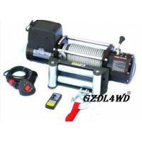 China Steel Heavy Duty Truck Winch , 12000lbs Atv Electric WinchWith Steel Rope wholesale