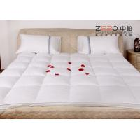 China Stain Resistant Hotel Mattress Topper Single / Double Size Available ZB-MT-10 wholesale