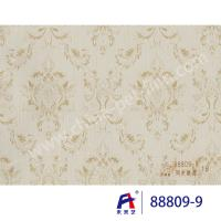 Buy cheap PVC  Coating  Film    PVC Decorative Film  88809-9 Synchronize the flowers  0.12-0.14mm from wholesalers
