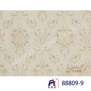 China PVC  Coating  Film    PVC Decorative Film  88809-9 Synchronize the flowers  0.12-0.14mm wholesale