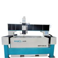 Quality 1500*800mm bridge type waterjet cutting machine with 420Mpa pump for ss and aluminum cutting for sale