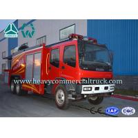 China Electronic System High Pressure Fire Extinguisher Truck With Fume Remove device on sale