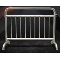 China Fixed Leg Interlocking Metal Fence Accessories Stainless Steel 304 316 Barricade For Concert wholesale