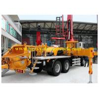 Quality CCC / CE Sany Truck Mounted Concrete Pump 20m Boom with Diesel Motor for sale