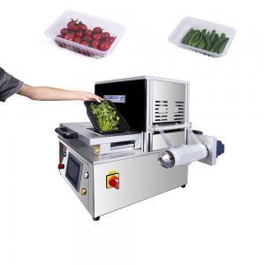 China Grain Table Top Tray Sealer Industrial Vacuum Sealer Machine 304 Stainless Steel on sale