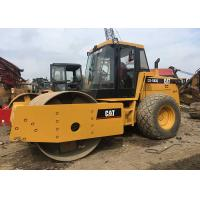 China Cat CS533 Second Hand Road Roller , 125kw Used Vibratory Roller Weitht 22T on sale