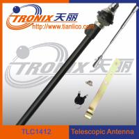 China 4 sections white mast telescopic car antenna/ active car antenna/ car am fm antenna TLC1412 on sale