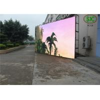 China HD Clear Small SMD LED Screen / p6 indoor led display High Frequency Dynamic Image wholesale