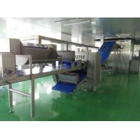 China Auto Freezing Croissant Production Line with 8 Noozles Depositor For Filled Croissant wholesale