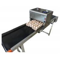 China Label / Logo Egg Inkjet Coding Printer With 1 - 4 Available Printing Lines wholesale